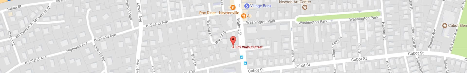 Map Sacramone Orthodontics in Newtonville, MA