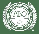 ABO Seal Small White Sacramone Orthodontics in Newtonville, MA